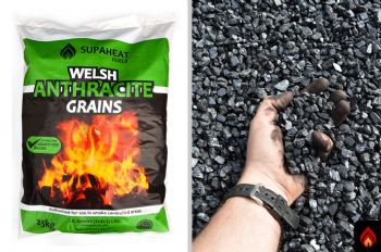 Welsh Anthracite Grains - 1 tonne (BLACK DIAMOND)